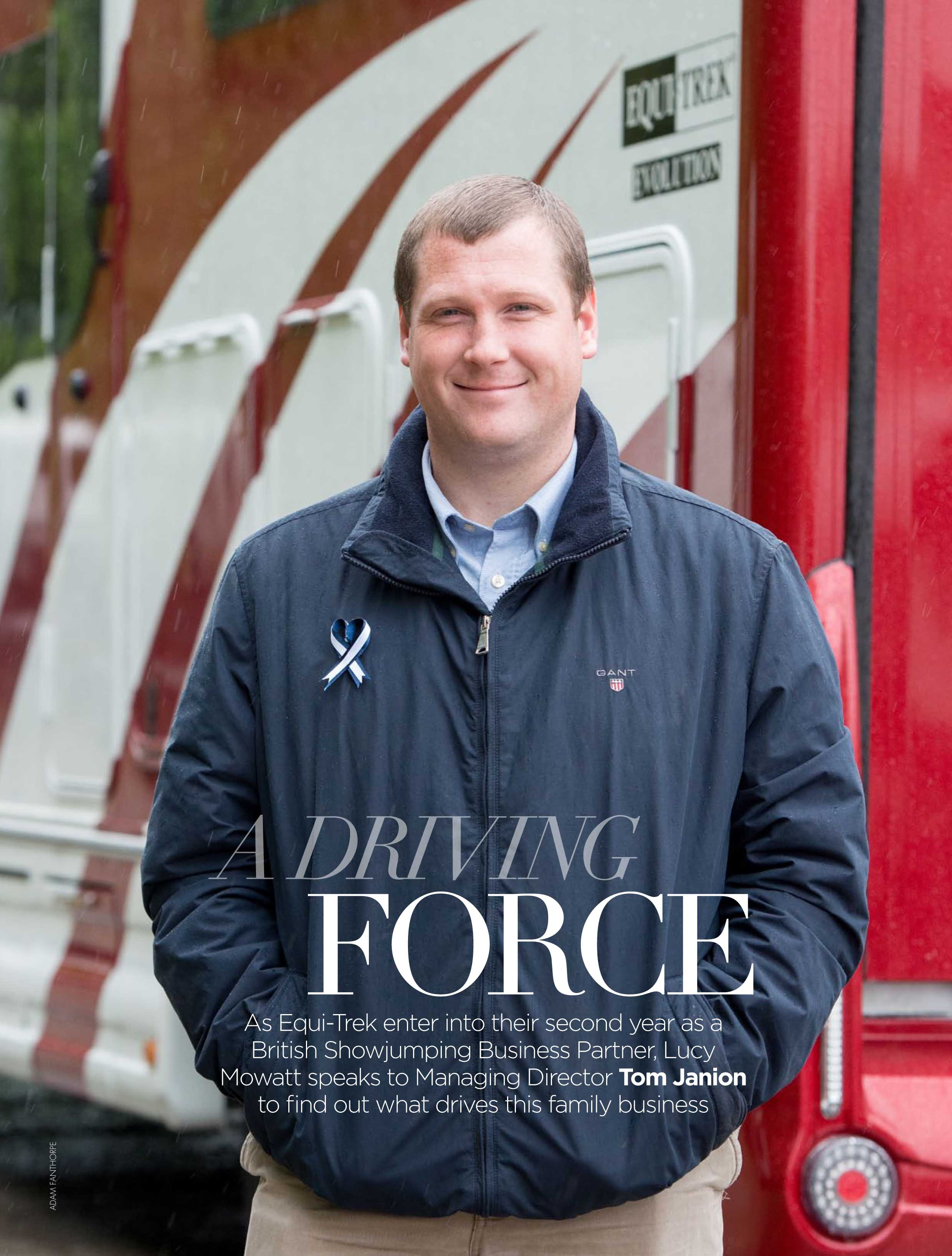 Equi-Trek Feature in British Showjumping Magazine