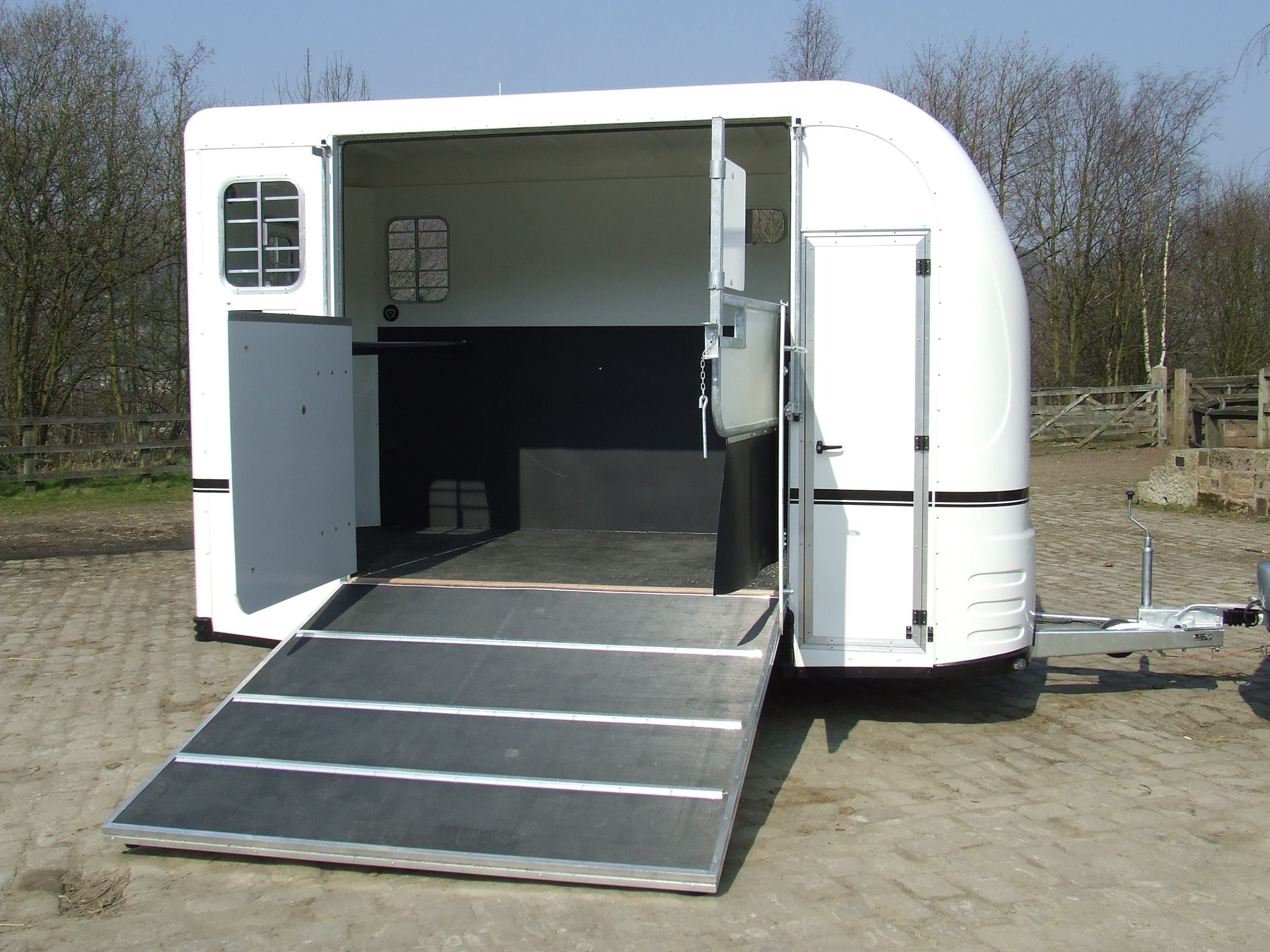 Ex-Demo Equi-Trek Space-Treka 'L' Trailer