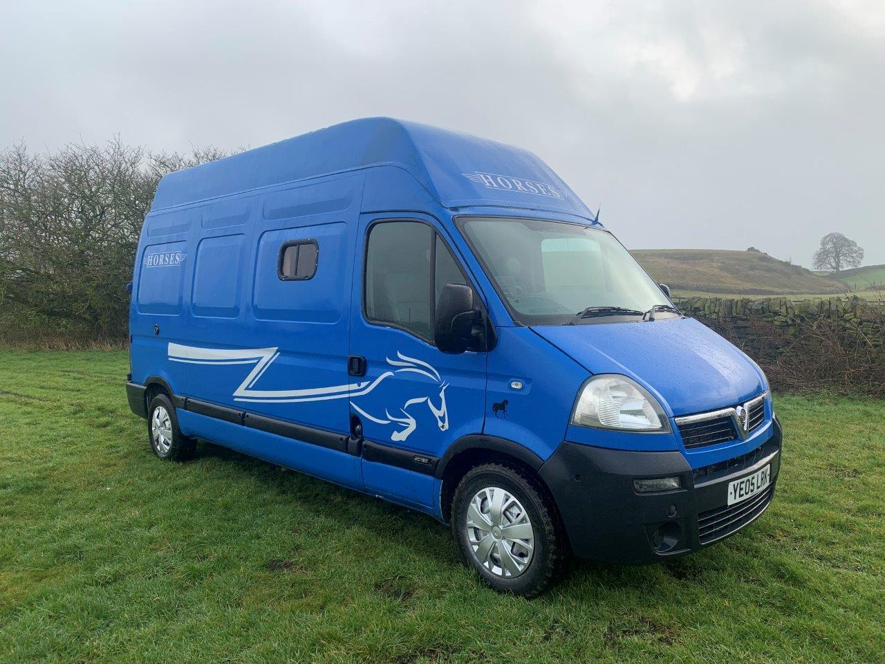 Pre-Owned Vauxhall Movano Van Horsebox 3500kg