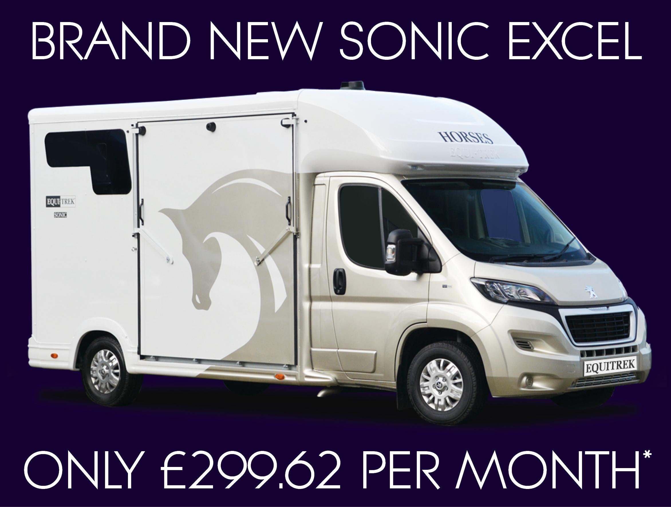 Sonic Excel Horsebox Finance